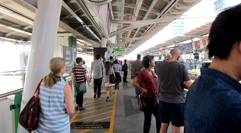 バンコク(タイ)の電車