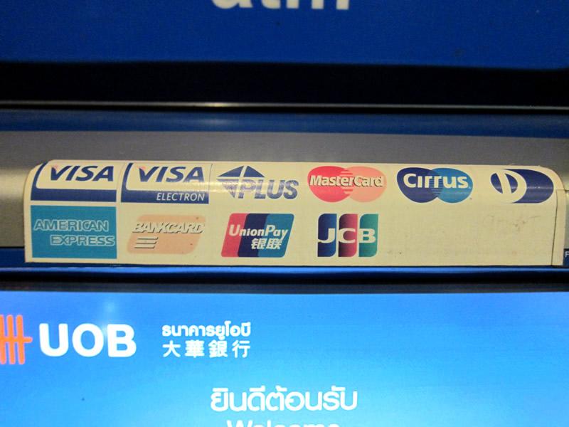 クレジット会社のロゴを確認